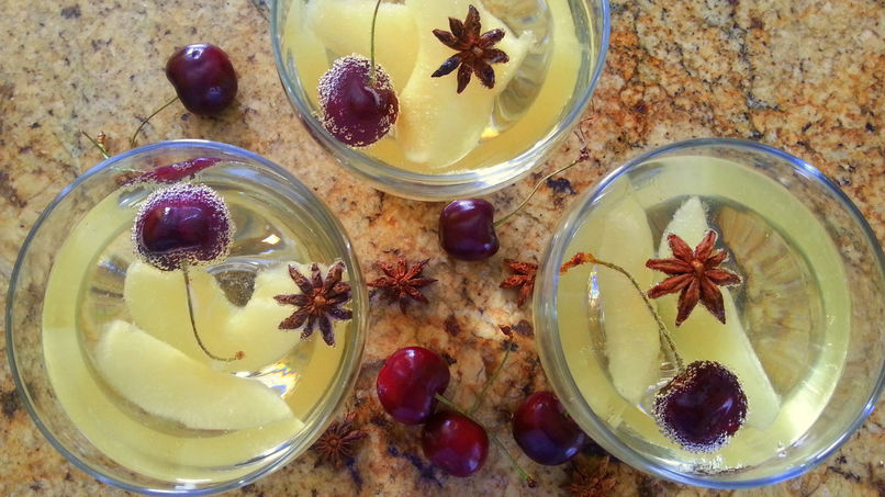 Pear, Anise and Cherry Sangria