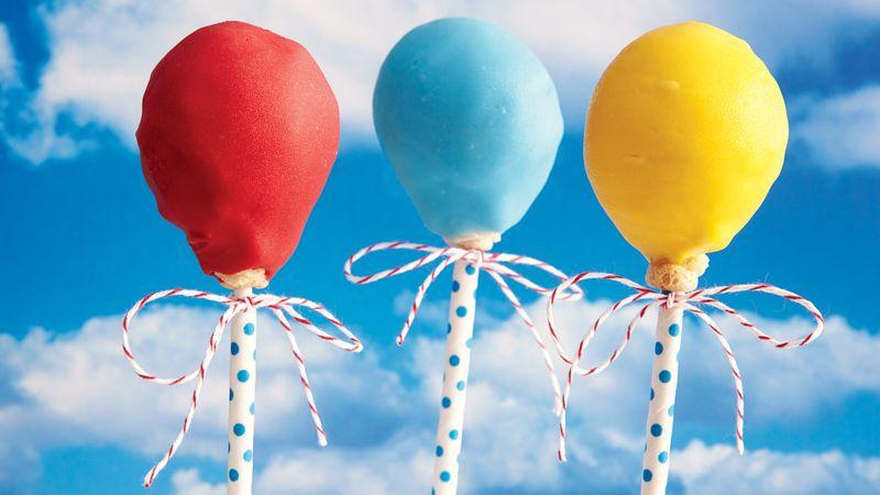 Balloon Cake Pops Recipe Bettycrocker Com