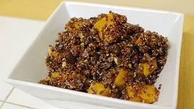 Quinoa Black Bean and Squash Salad