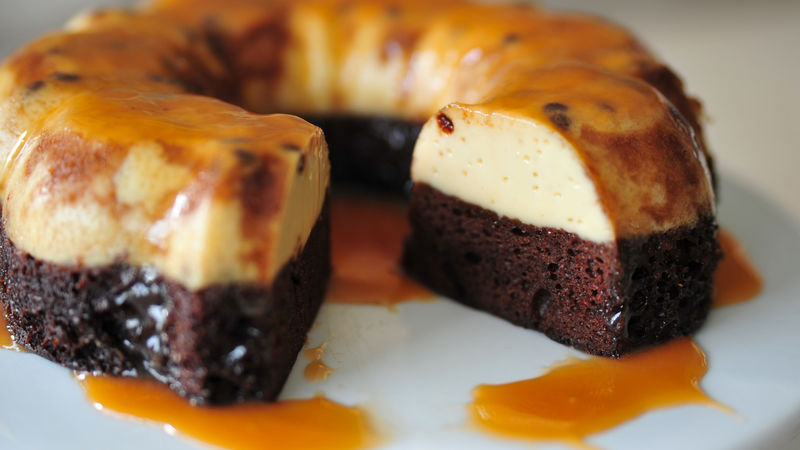 chocoflan mexicano
