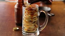 Beer and Bacon Mancakes