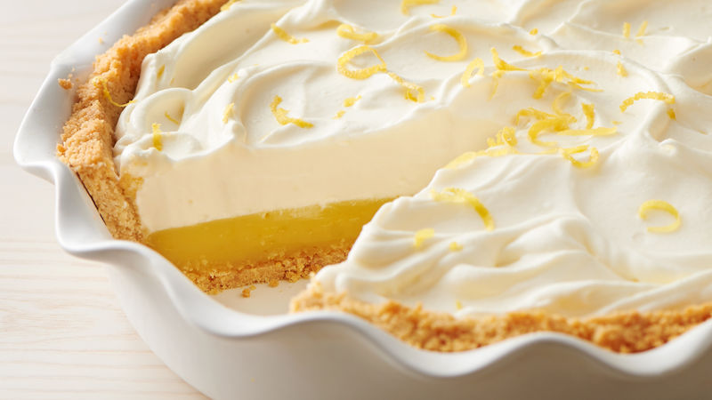 Lemon Sugar Cookie Pie