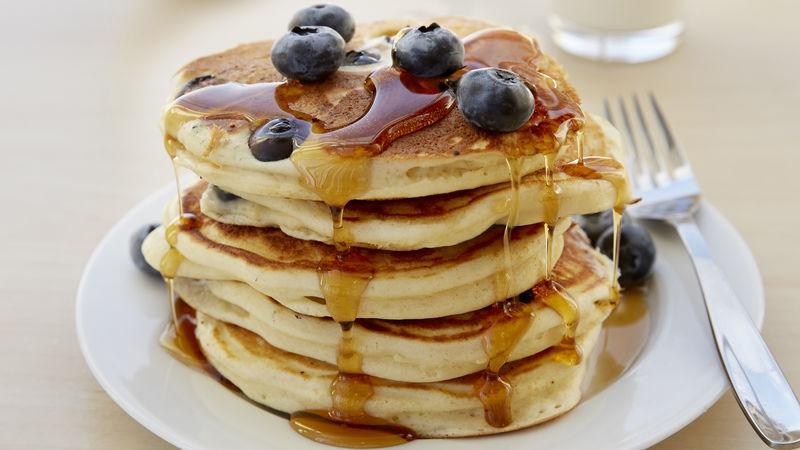 Fluffy Yoghurt Pancakes