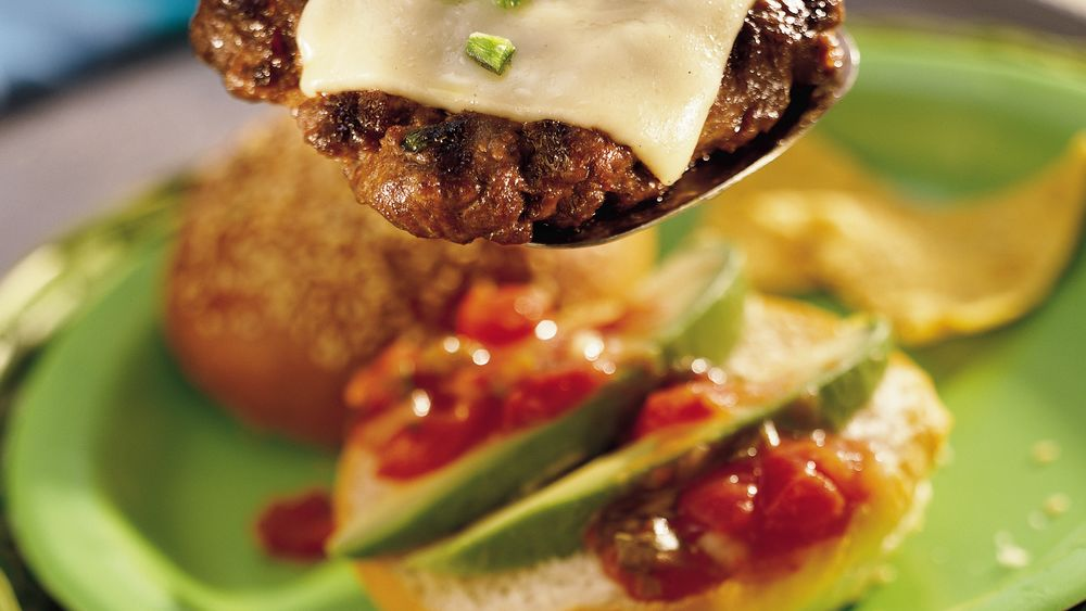 Grilled Taco Burgers