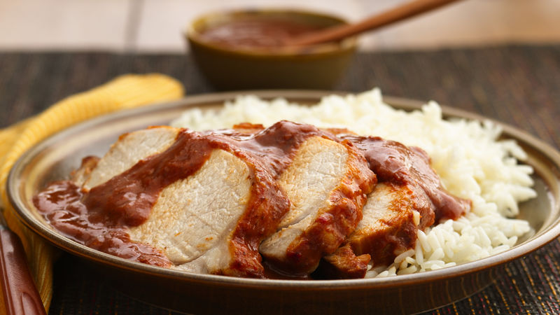 Pork Loin in Prune Sauce