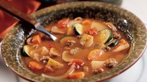 Ground Beef Stew Recipe Pillsbury Com