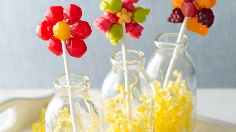 Fruit Flavored Snack Flower Pop