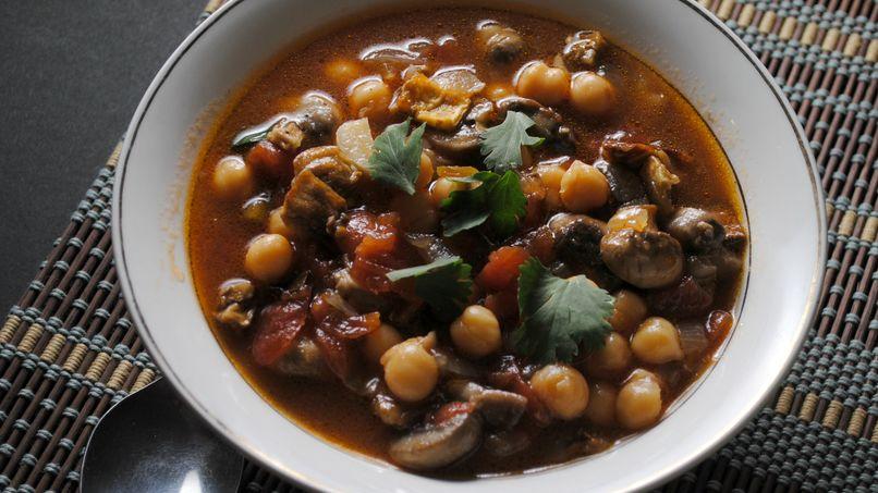 Eggplant Chickpea Stew