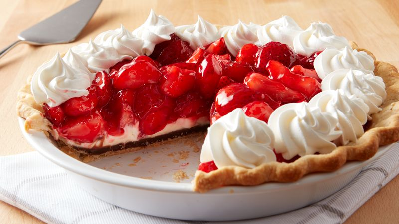 Cherry Chocolate Cream Pie Recipe
