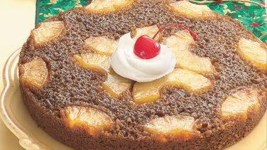 Pineapple Upside-Down Gingerbread