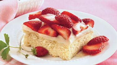 Strawberry Shortcake Coffee Cake