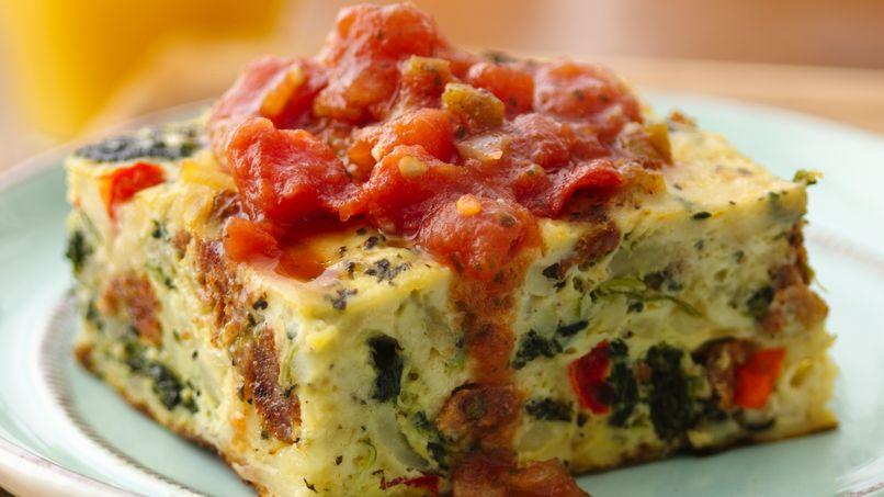 Chorizo Egg Bake
