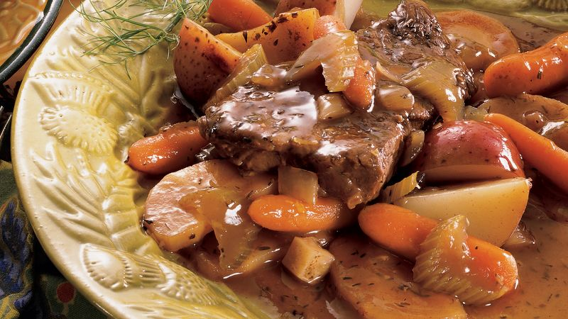 Braised Beef with Root Vegetables
