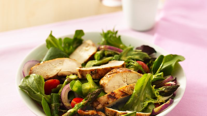 grilled chicken garden salad - Garden Salad Recipe