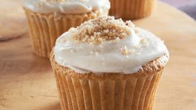Brown Sugar-Pecan Cupcakes