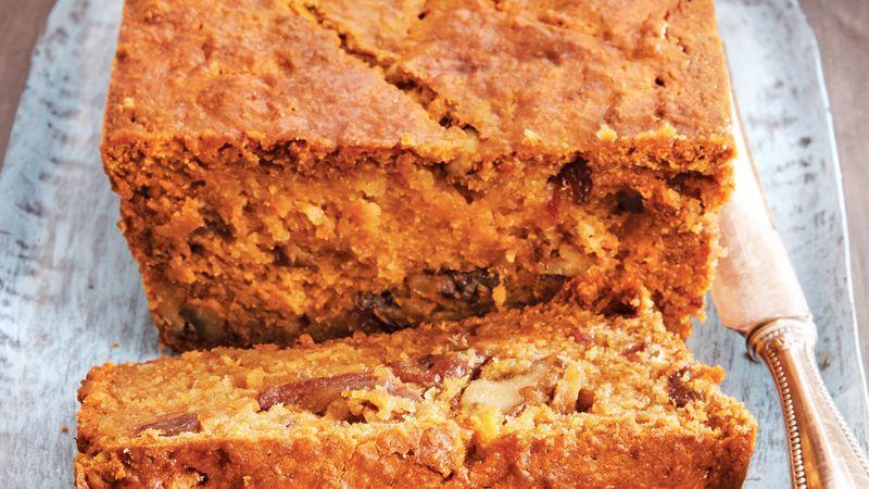 Persimmon Walnut Bread