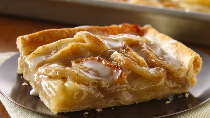 Apple Slab Pie Recipe Bettycrocker Com