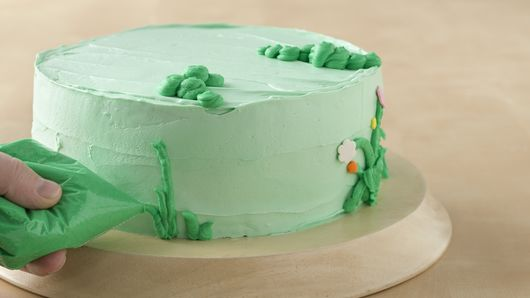 Admirable Fairy Garden Cake Recipe Bettycrocker Com Personalised Birthday Cards Veneteletsinfo