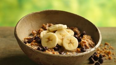 Banana-Chocolate Chip Gran-Oatmeal