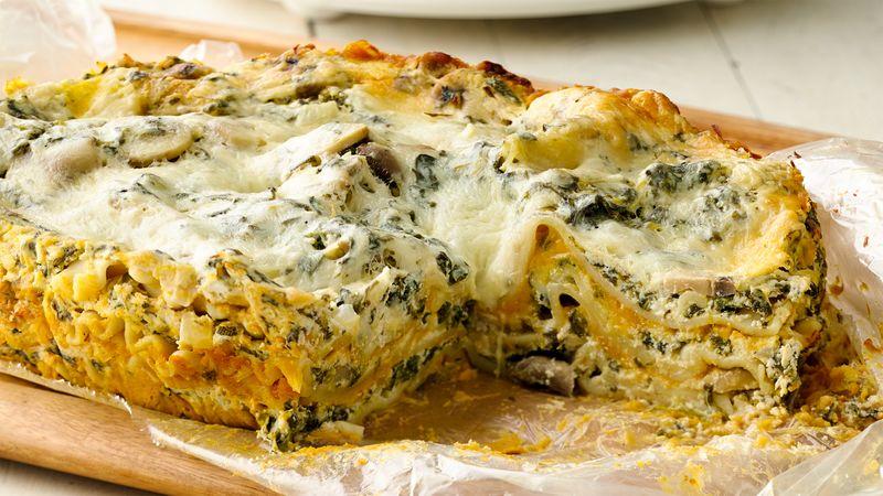 Pumpkin Slow-Cooker Lasagna