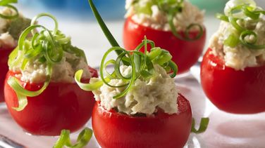 Filled Tomato Appetizers
