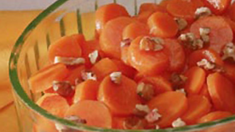 Maple-Pecan Carrots