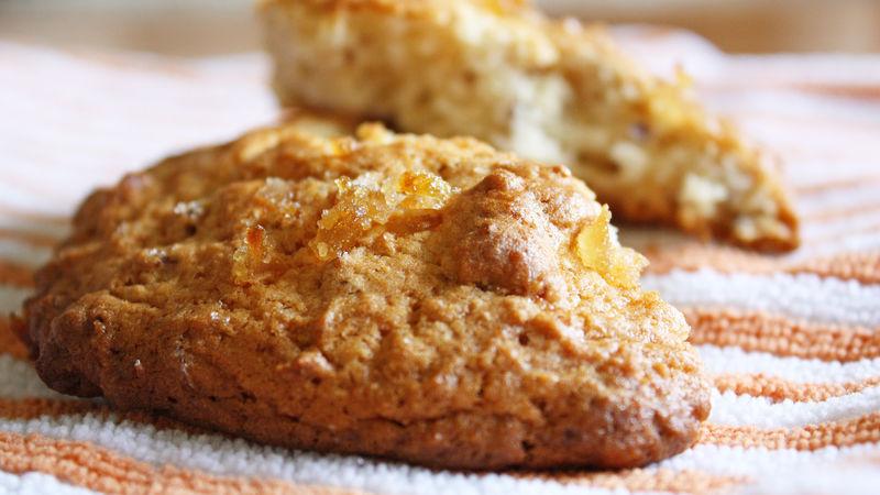 Ginger Pecan Scones
