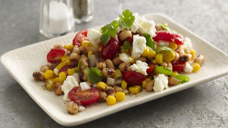 Gluten-Free Blackeyed Pea, Tomato and Corn Salad