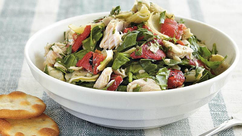 Tuna, Artichoke and Pepper Salad