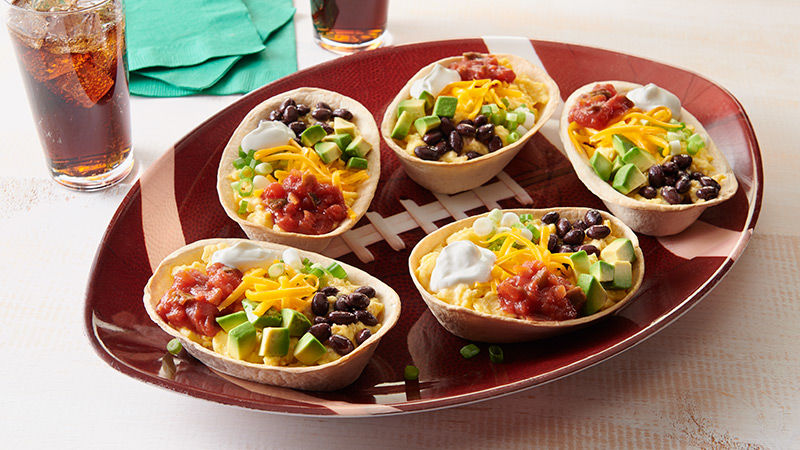 Loaded Game Day Breakfast Tacos