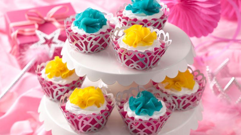 Cupcakes de la princesa