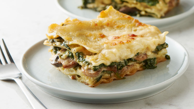 Make-Ahead Creamy Spinach Lasagna