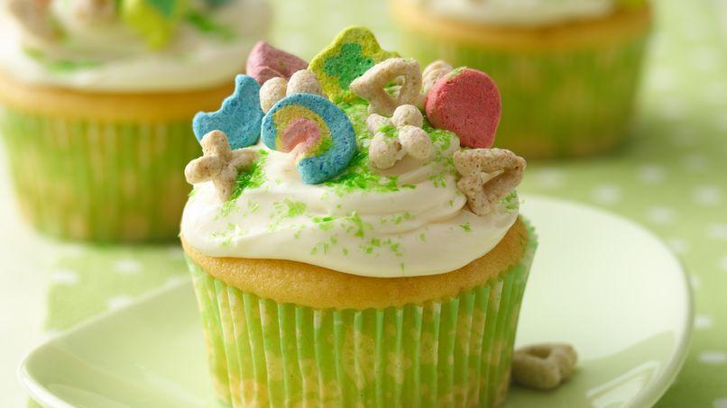 Lucky Charm® Cupcakes