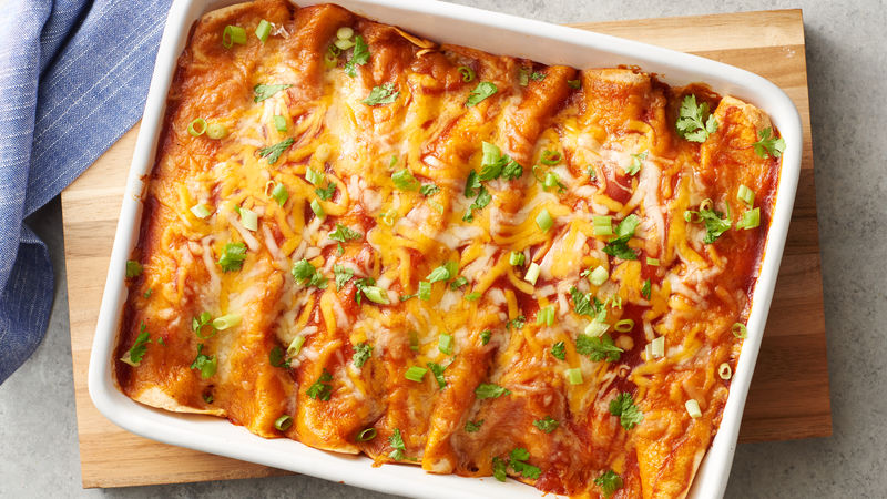 Make ahead enchilada breakfast casserole recipe pillsbury make ahead enchilada breakfast casserole ccuart Gallery
