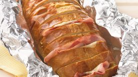 Grilled Ham and Cheese Pull-Apart Sandwich Loaf