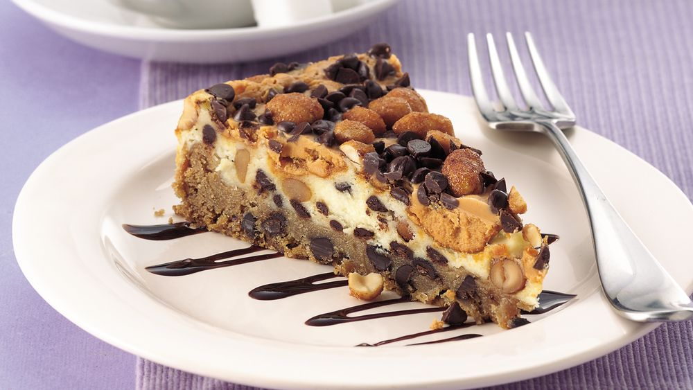 Chocolate Chip-Peanut Butter Torte (cookie dough tub)