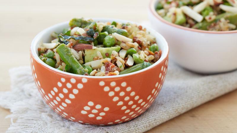 Spring Vegetable Grain Salad