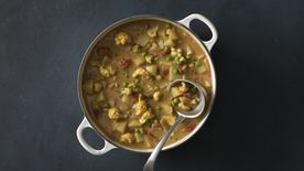 Coconut Curried Vegetable Soup