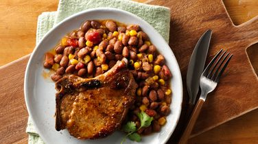 Southwest-Style Slow-Cooker Pork Chops