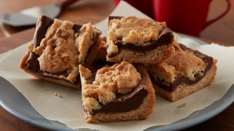 Salted Caramel Chocolate Jumble Bars