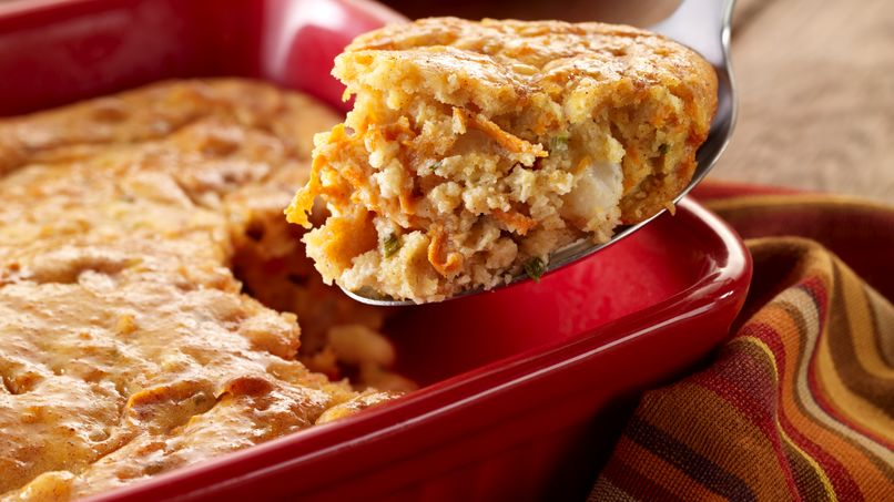 Sweet Potato Corn Pudding