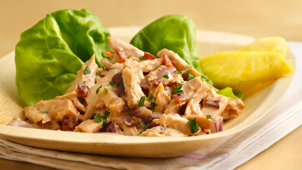 Barbecued Chicken Salad