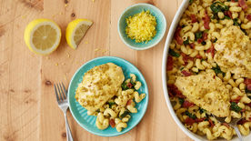 Lemon Mustard Chicken Bake
