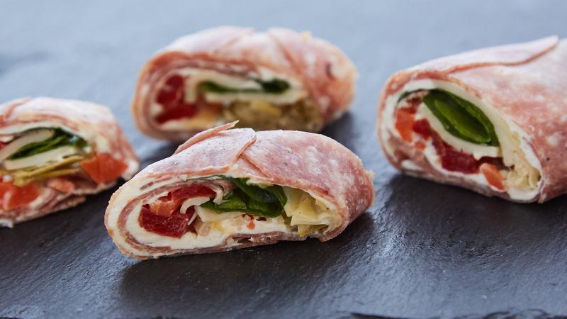 Italian Deli Roll-Ups