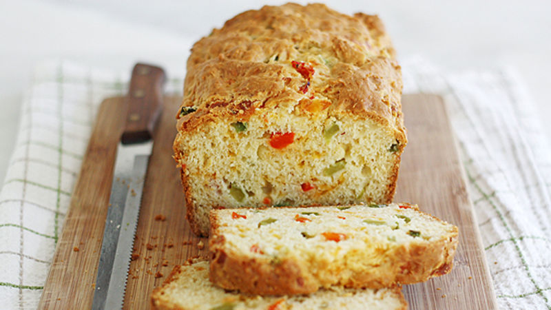 Cheesy Pepper Bread