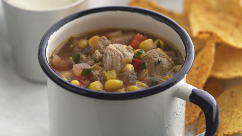Skinny Chipotle Pork Stew