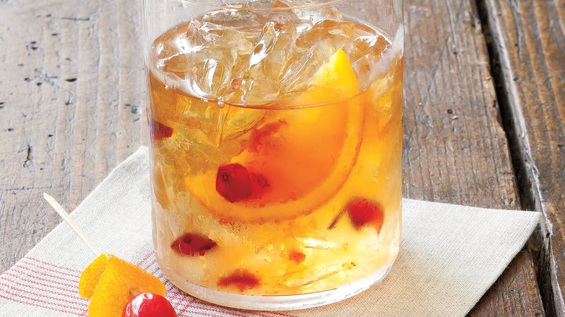 how to make a bourbon old fashioned