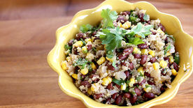 Vegan Quinoa and Black Beans