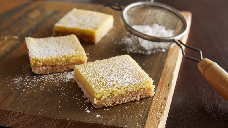 Cookie Mix Lemon Bars