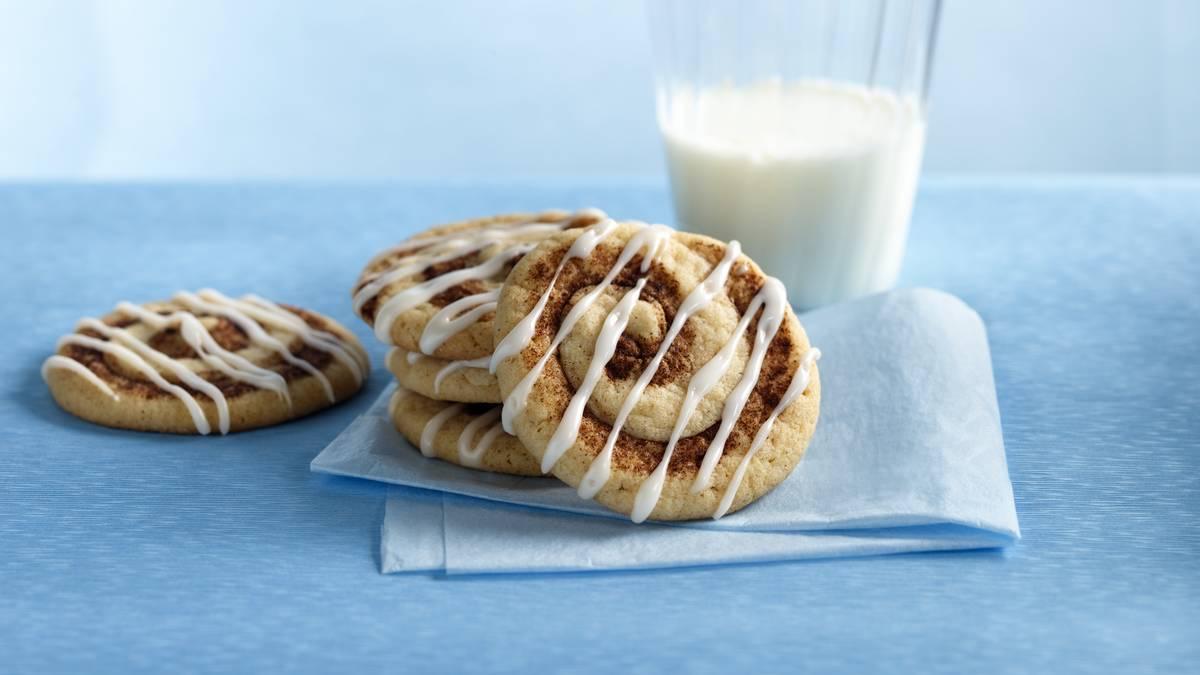 Cinnamon Swirl Cookies